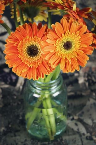 how to make fresh flower bouquet step by step